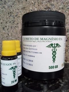 Kit Magnesio + Lugol 5% ( Frete Gratis ) Lair Ribeiro