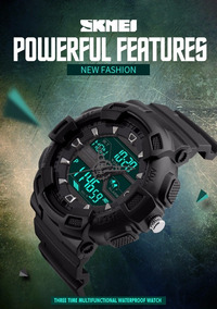 Relógio Skmei Cassio S-shock Masculino Esportivo Importado