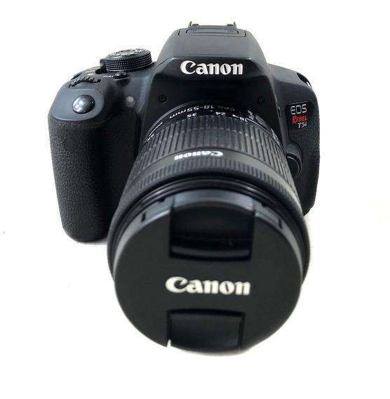 Câmera Canon T5i Kit 18-55mm Lojista Seminovo Garantia 3 Mes