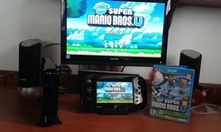 Nintendo Wii U Deluxe Edition Con Juegos