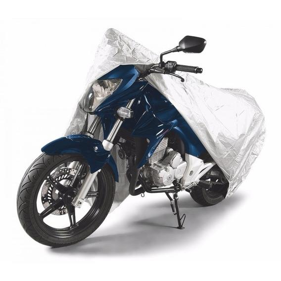 Capa Para Moto Impermeável Tramontina P Prata Fcwt