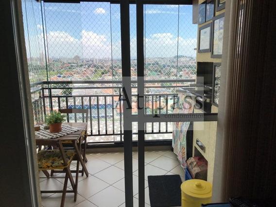 Apartamento 58m² Rudge Ramos 2 Dormitórios 1 Suíte Varanda Gourmet - At738
