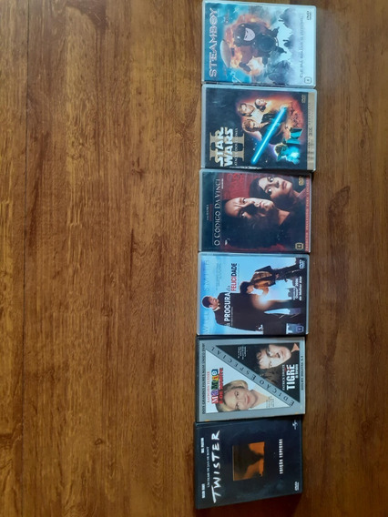 6 Dvds De Filmes