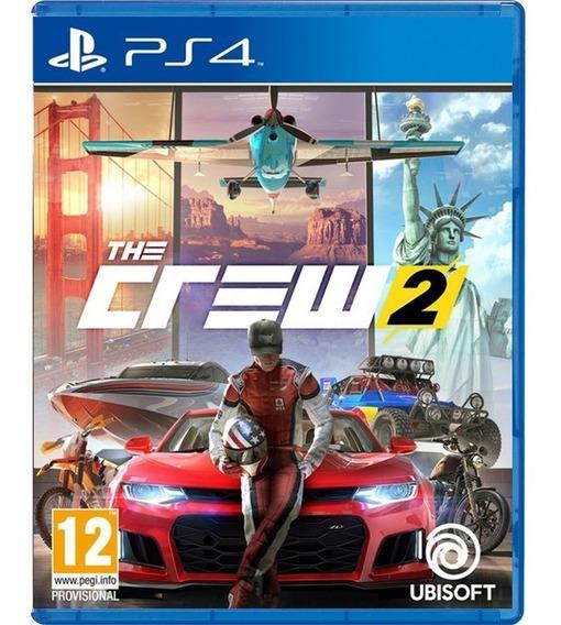 The Crew 2 Ps4 Mídia Digital Psn 1 Pri Completo Envio Rapido