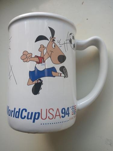 Mug Mundial Usa 94 Striker Original Y Oficial