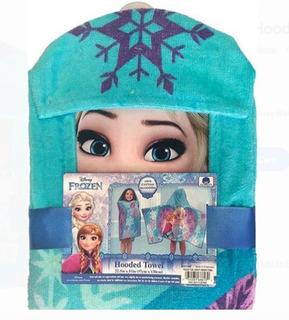 Disney Frozen Toalla Ana Y Elsa De Baño Con Capucha Xtreme C