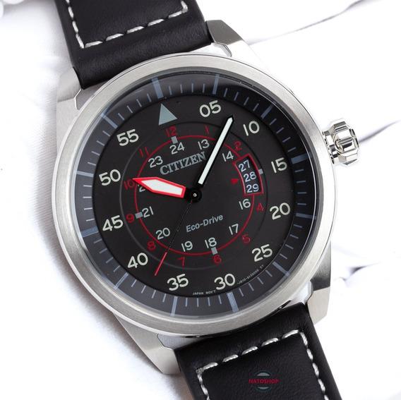 Relógio Citizen Eco-drive Aviator Piloto Aw1360-04e