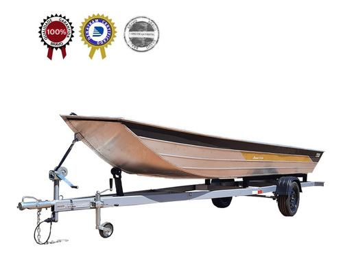 Carretinha Reboque Pescaria P/ Barco Alumínio 6m Zero Km