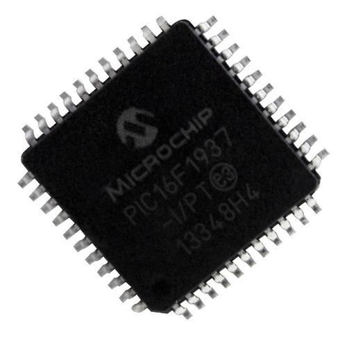 Imagen 1 de 2 de Microcontrolador Pic16f1937-i/pt 44 Pines Encapsulado Tqfp