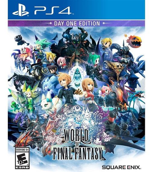 World Of Final Fantasy Ps4 Mídia Física Lacrado
