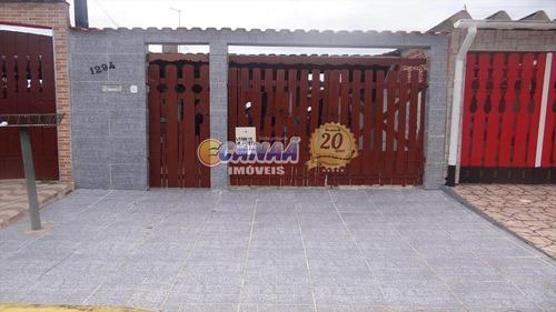 Sobrado Com 4 Dorms, Balneário Regina Maria, Mongaguá - R$ 190 Mil, Cod: 7025 - V7025