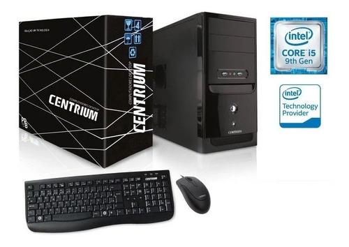 Computador Intel I5 9400f 4gb Ddr4 120gb Ssd Teclado E Mouse