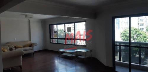 Apartamento Com 4 Dormitórios, 238 M² - Boqueirão - Santos/sp - Ap5753