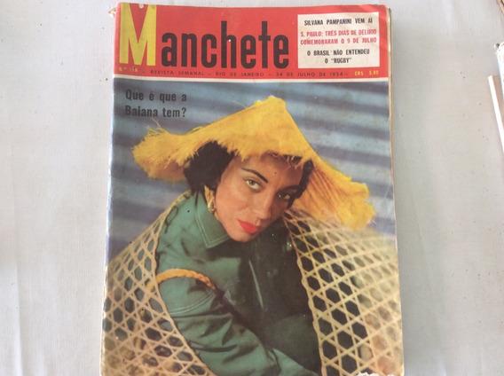 Revista Manchete - Varias Datas - Antigas