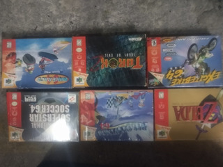Lote De Juegos Nintendo 64