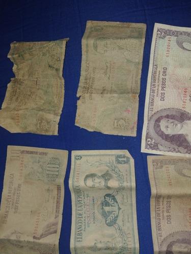 Imagen 1 de 5 de 6 Billete Antiguo De Colombia 100% Originales