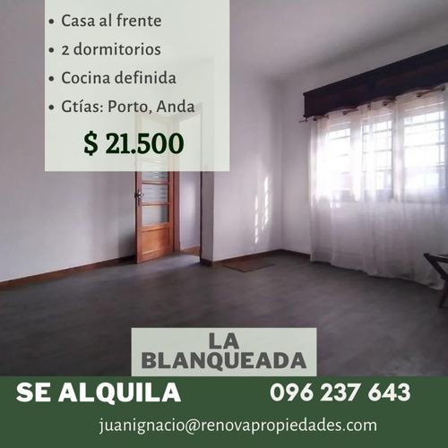 Alquiler Casa 2 Dormitorios La Blanqueada Montevideo I
