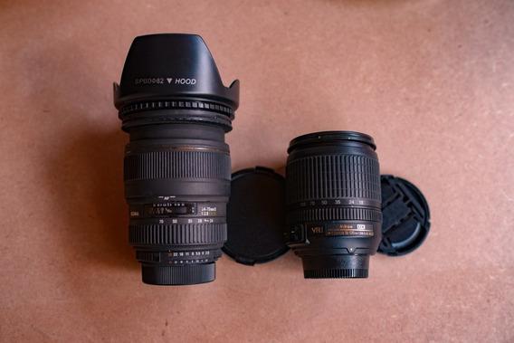 Lente Sigma Para Nikon 24/70 A Vista Sem Dividir 2000 Reais