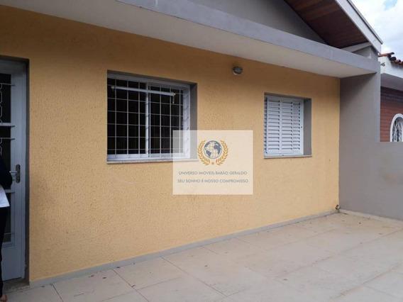 Casa Com 4 Dormitórios Para Alugar, 131 M² Por R$ 2.350,00/mês - Barão Geraldo - Campinas/sp - Ca1011