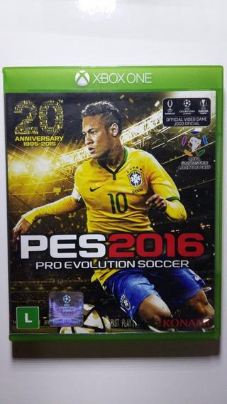 Pes 2016 Xbox One - Mídia Física - Em Ótimo Estado !!