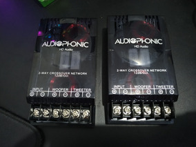 Crossover Passivo Audiophonic Club Kc 6.3 Divisor Frequencia