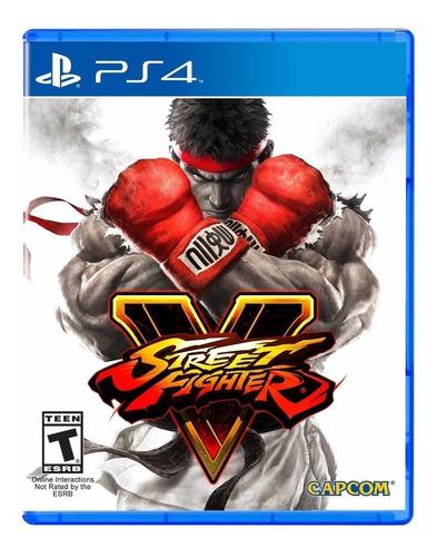 Imagen 1 de 8 de Street Fighter 5 Juego Ps4 Fisico/ Mipowerdestiny
