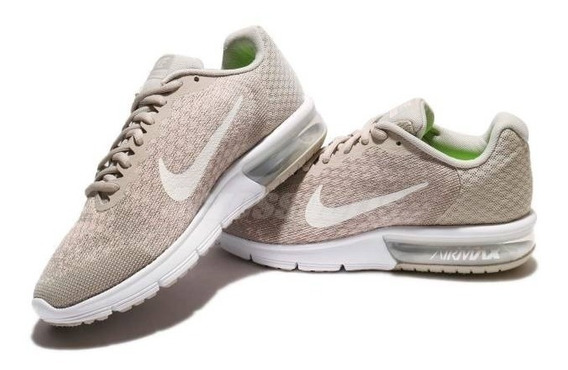 Tenis Nike 852465 011 Air Max Sequent 2 Beige