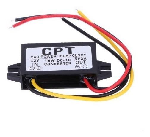 Regulador Conversor Energia 12v/5v 3a 15w