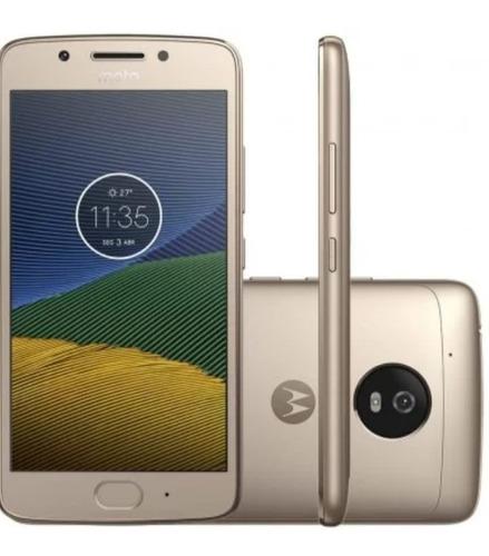 Celular Moto G 5 Dourado 32g Semi Novo
