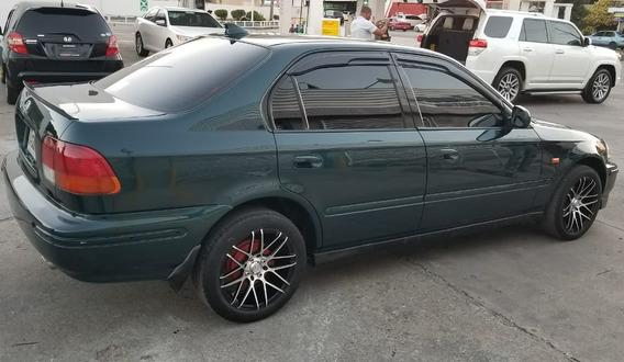 Honda Civic Aros De Lujo Con 110mil De Inicial Precio 225