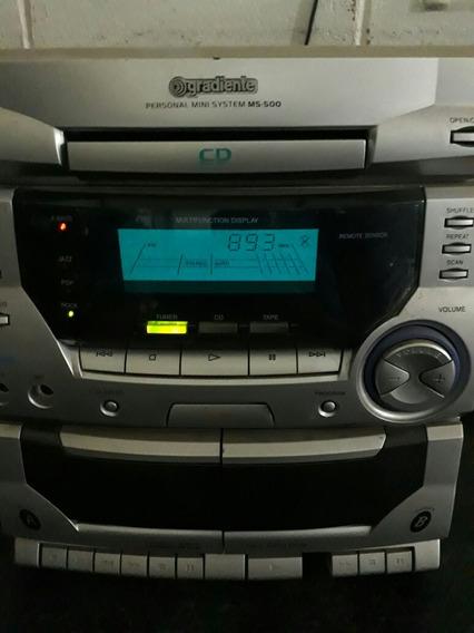 Mini Sistem Gradiente Ms-500 Cd Enroscando