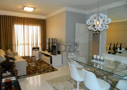Apartamento Com 3 Dormitórios À Venda, 78 M² Por R$ 340.000,00 - Jardim Santa Rosa - Nova Odessa/sp - Ap3405