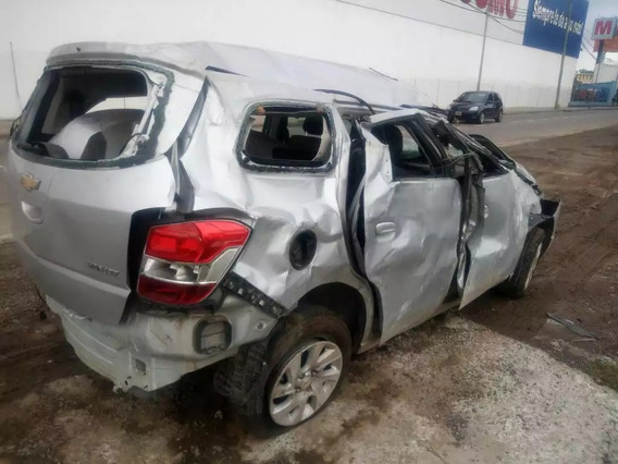 Chevrolet Spin Ltz 7as Chocado Volcado