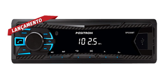 Radio Automotivo Positron Sp2230bt Fm Bluetooth
