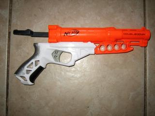 Pistola Nerf Doubledown