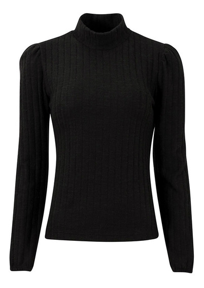 Polera Sweater Kiki Buzo Morley Elastizado Abrigado Brishka