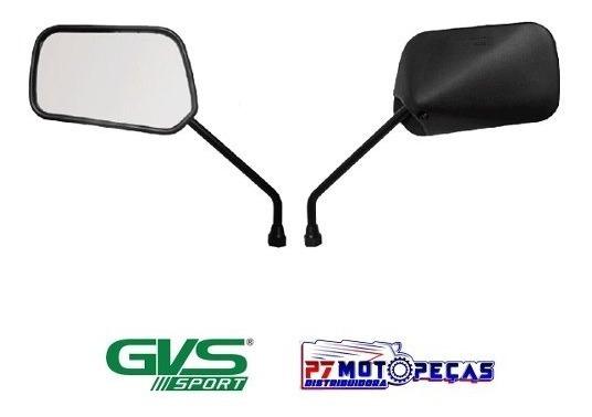 Retrovisor Gvs Moto Honda Cg Titan 150 Barato Par Promoção