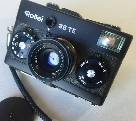 Rollei 35 Te - Camera Fotográfica Analógica Vintage 35mm