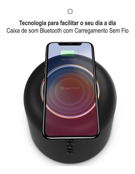 Caixa Som Bluetooth Com Carregador Sem Fio Baseus Encok E50