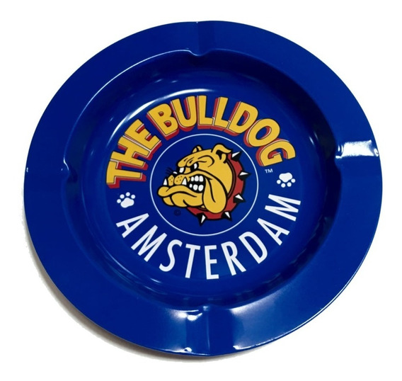 Cenicero Bulldog Amsterdam Lata 13.5cm
