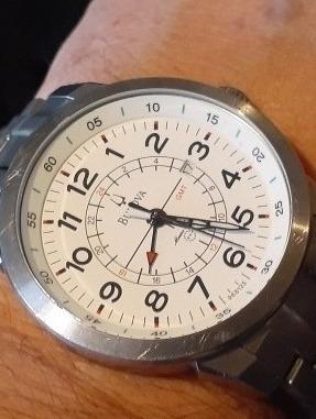 Relógio Bulova Gmt Usado -promoção