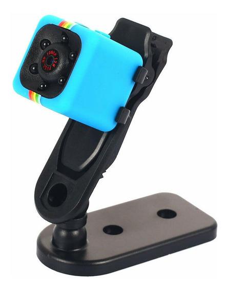 Sq11 Mini Câmera Azul