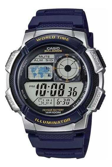 Relógio Casio Azul