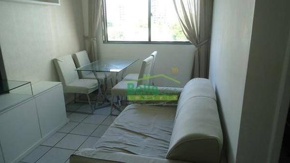 Apartamento Com 1 Dormitório Para Alugar, 34 M² Por R$ 1.600,00/mês - Tamarineira - Recife/pe - Ap0998