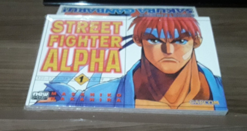 Street Fighter Alpha Mangá Vol.1 E 2 +sakura Ganbaru! Vol. 1