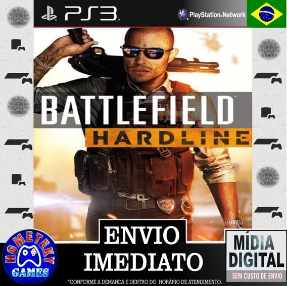 Battlefield Hardline - Psn Ps3 Dublado Português Br