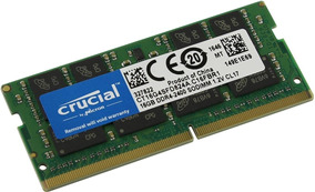 Memória Ddr4 Crucial 2400mhz 16gb Samsung Np350xaa-kf3br