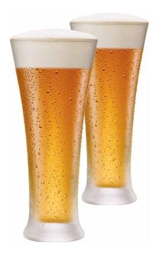 Imagem 1 de 3 de Jogo Copos Ritzenhoff Cristal De Cerveja Pilsner 400ml 2 Pcs