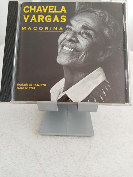 Chavela Vargas - Macorina Cd