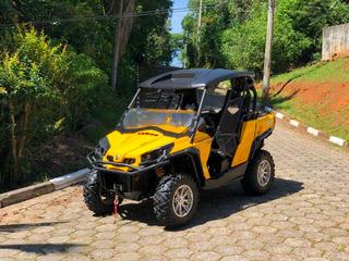 Can Am Utv Quadriciclo Commander 1000 4x4 2012 ( Completo )